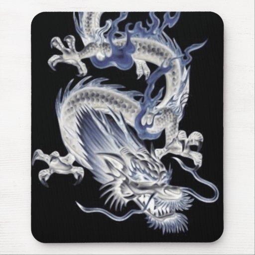 Dragón oscuro Mousepad Alfombrilla De Ratones