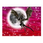 Dragón oscuro postal