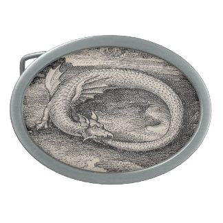Dragon Ouroboros Medieval Belt Buckle