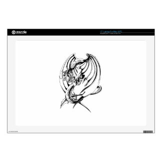 Dragon Outline Decals For Laptops