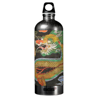 Dragon painting on the Korean ceiling of Sungnyemu Water Bottle