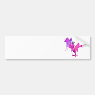 Dragon Pair Bumper Stickers
