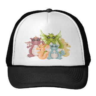 Dragon Pals Pixel Art Trucker Hat