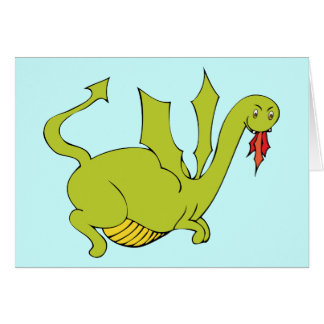 Dragon Party Invitation - Matching Stamp Available