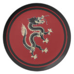 Dragon Party Plate