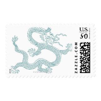 Dragon pattern 12 postage