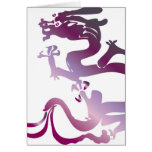 Dragon pattern 19 card