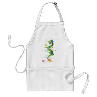 Dragon & Pearl apron