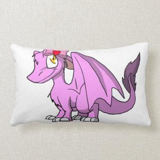 Dragón peludo de Bubblegum SD con el arco 1 del el Almohadas