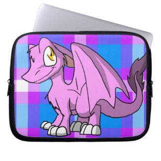 Dragón peludo de Bubblegum SD con la parte Funda Computadora