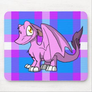 Dragón peludo de Bubblegum SD con la parte Tapete De Raton