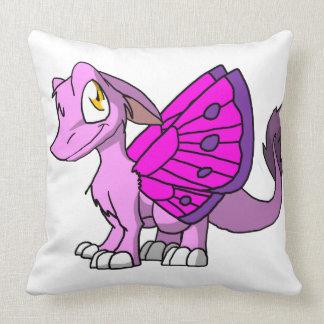 Dragón peludo de Bubblegum SD con las alas 1 de la Cojines