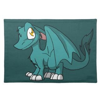 Dragón peludo de Recolorable SD con cualquier Manteles