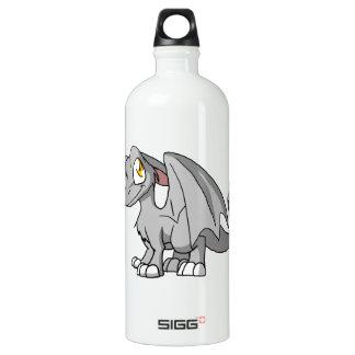 Dragón peludo del SD de la plata