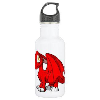 Dragón peludo rojo del SD