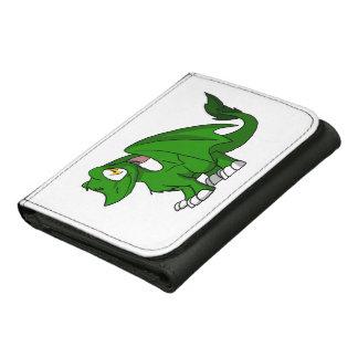 Dragón peludo verde del SD del pino