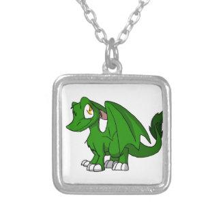 Dragón peludo verde del SD del pino Joyeria Personalizada