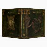 Dragon & Pentagram Book of Shadows 3 Ring Binder