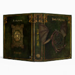 Dragon & Pentagram Book of Shadows Vinyl Binder