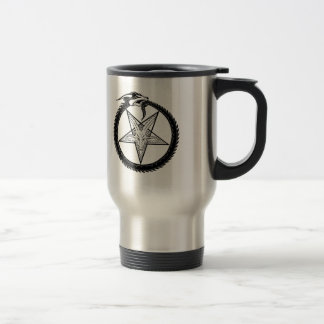 Dragon Pentagram Travel Mug