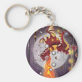 Dragon Pinball machine Keychain