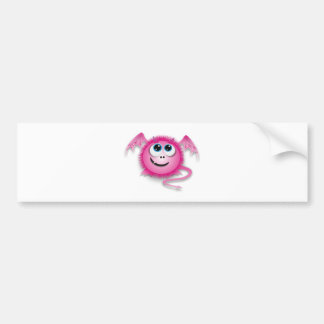 Dragon pinky bumper sticker