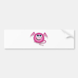 Dragon pinky car bumper sticker