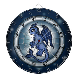 Dragon Pisces Zodiac Dartboards