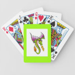 Dragon plaing cards bicycle card decks