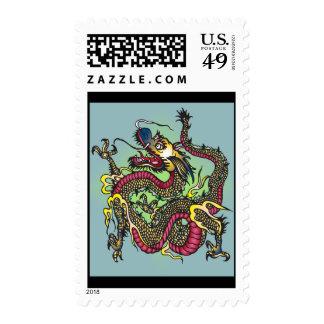 Dragon Postage Stamp