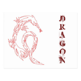 DRAGON POSTCARD