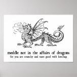 Dragon Poster Print