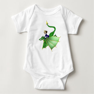 Dragon Princess Infant Shirt, 6-24 months Baby Bodysuit