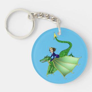 Dragon Princess Keychain
