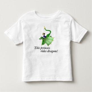 Dragon Princess Toddler Shirt, with words, 2T-4T Toddler T-shirt
