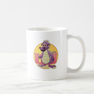 Dragon Purple Cartoon Coffee Mug