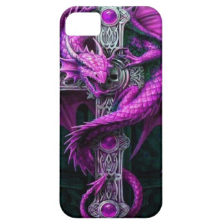 Dragón púrpura funda para iPhone SE/5/5s