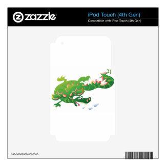 Dragon-puttpuff--02 iPod Touch 4G Decals