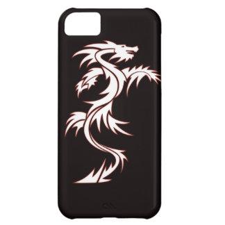 Dragón que brilla intensamente funda para iPhone 5C