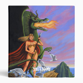Dragon Queen Binder with Your Name