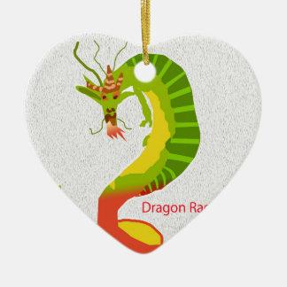 Dragon Rage Ceramic Ornament