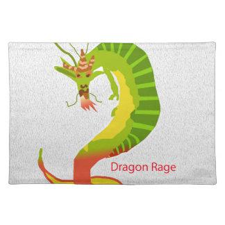 Dragon Rage Cloth Placemat
