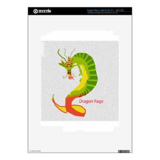 Dragon Rage Decals For iPad 3