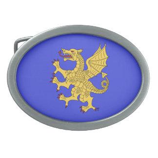 Dragon Rampant (Gold) Belt Buckle