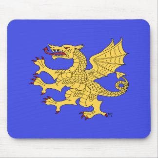 Dragon Rampant (Gold) Mousepad