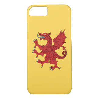 Dragon Rampant Gules iPhone 8/7 Case