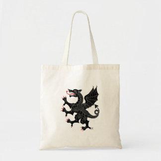 Dragon Rampant Sable Tote Bag