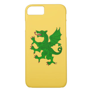 Dragon Rampant Vert iPhone 8/7 Case