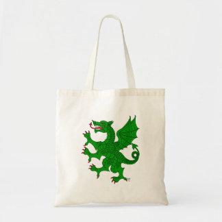 Dragon Rampant Vert Tote Bag