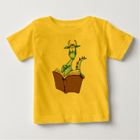 Dragon Reading Book Baby T-Shirt